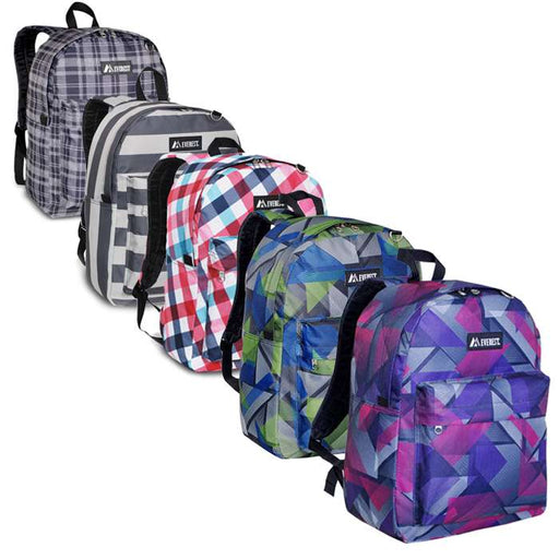 Stylish Pattern Printed Everest Backpack