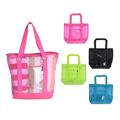 Mesh Polyester Large Tote Bag
