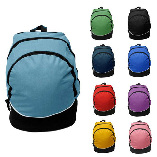 Tri-Color Classic Daypack Backpack - Clearance
