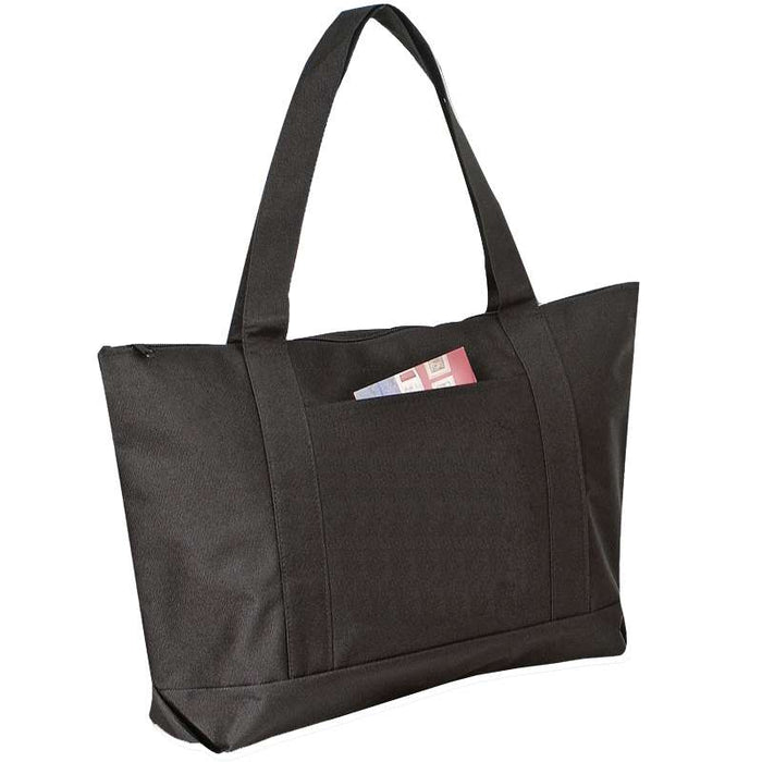 P&O Cruiser Boat and Beach Zippered Tote Bag