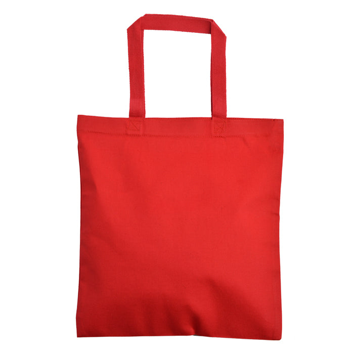 wholesale canvas bags red