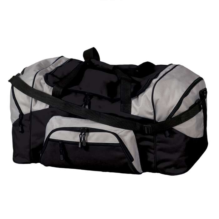 Colorblock Sport Duffel Shoulder Bag