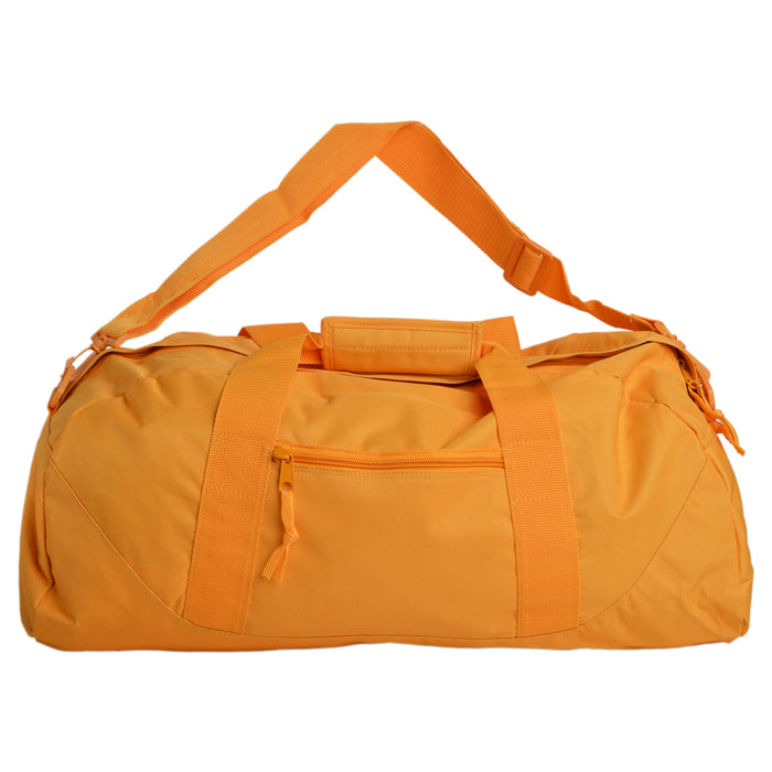 Large Square Utility Recycled Fiber Duffel Bag