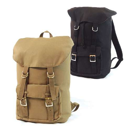 Explorer Heavy Duty Canvas Backpack