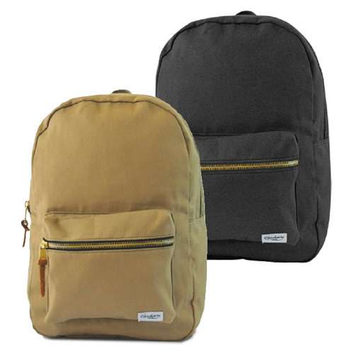 Slim Cut Canvas Backpack