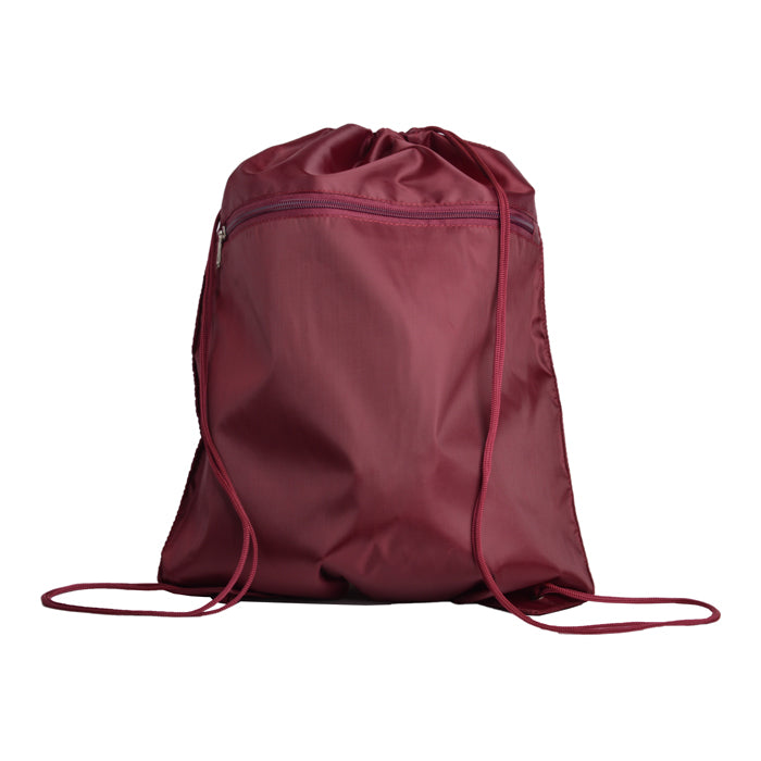 Polyester Economical Sport Drawstring Bag Cinch Pack