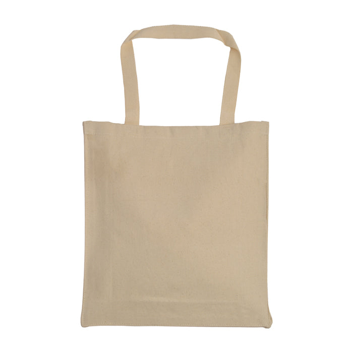 Canvas Economical Tote bag With Gusset