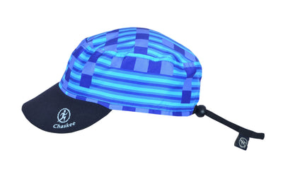 Chaskee Reversible Cap Microfaser Junior Fancy Lines-Chaskee-hutwelt