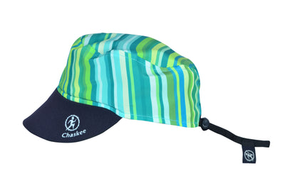 Chaskee Reversible Cap Microfaser Junior Stripes-Chaskee-hutwelt