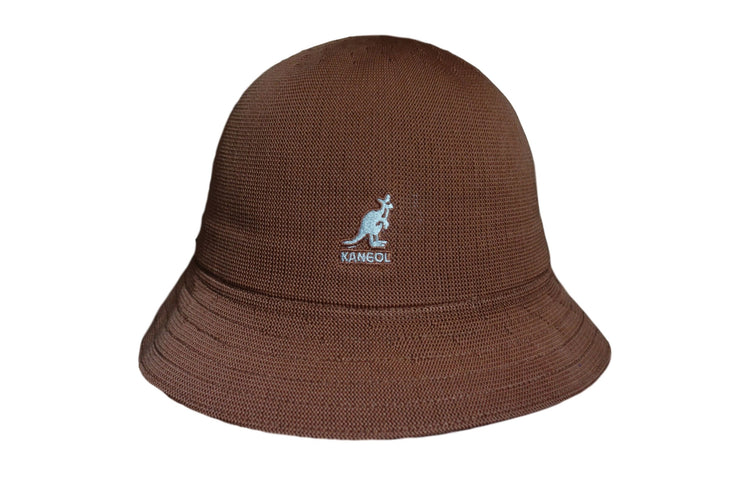 KANGOL Buckethat Tropical casual camel