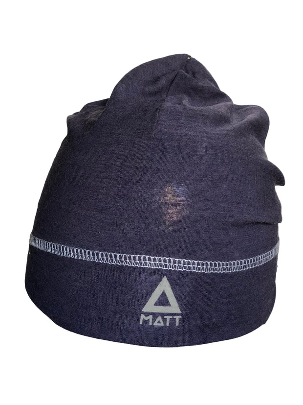 Matt Light Merino Wool Beanie Strickmütze-MATT-hutwelt