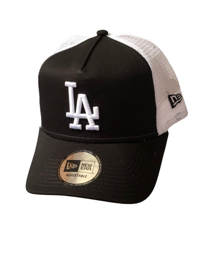NEW ERA Cap Clean Trucker Los Angeles Dodgers-NEW ERA-hutwelt