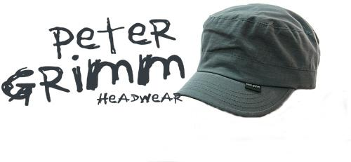 Peter Grimm Cap Commando Grey