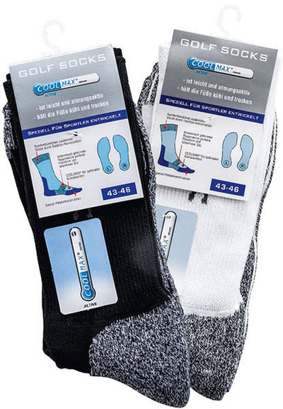 SOCKS PUR COOLMAX Golf-Socken Funktions-Sportsocken.-Hutwelt-hutwelt