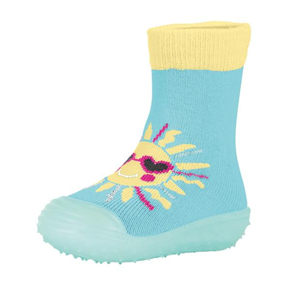 Sterntaler Stoppersocken Adventure-Socks Sonne