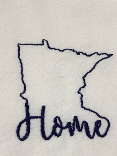 Minnesota Home State Towel