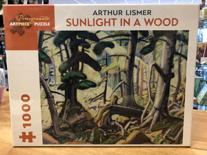 Sunlight in a Wood Puzzle - Arthur Lismer