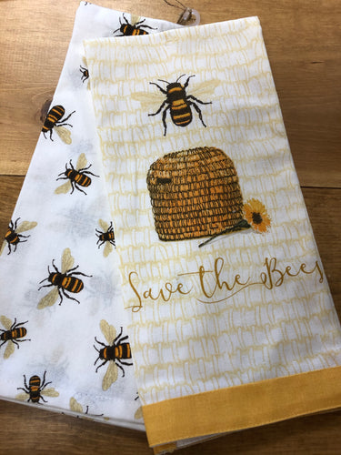 Save the Bees Towels