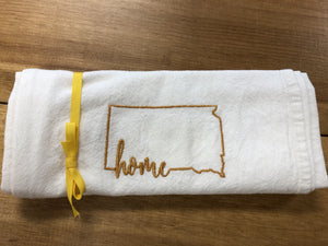 South Dakota Home State Towel