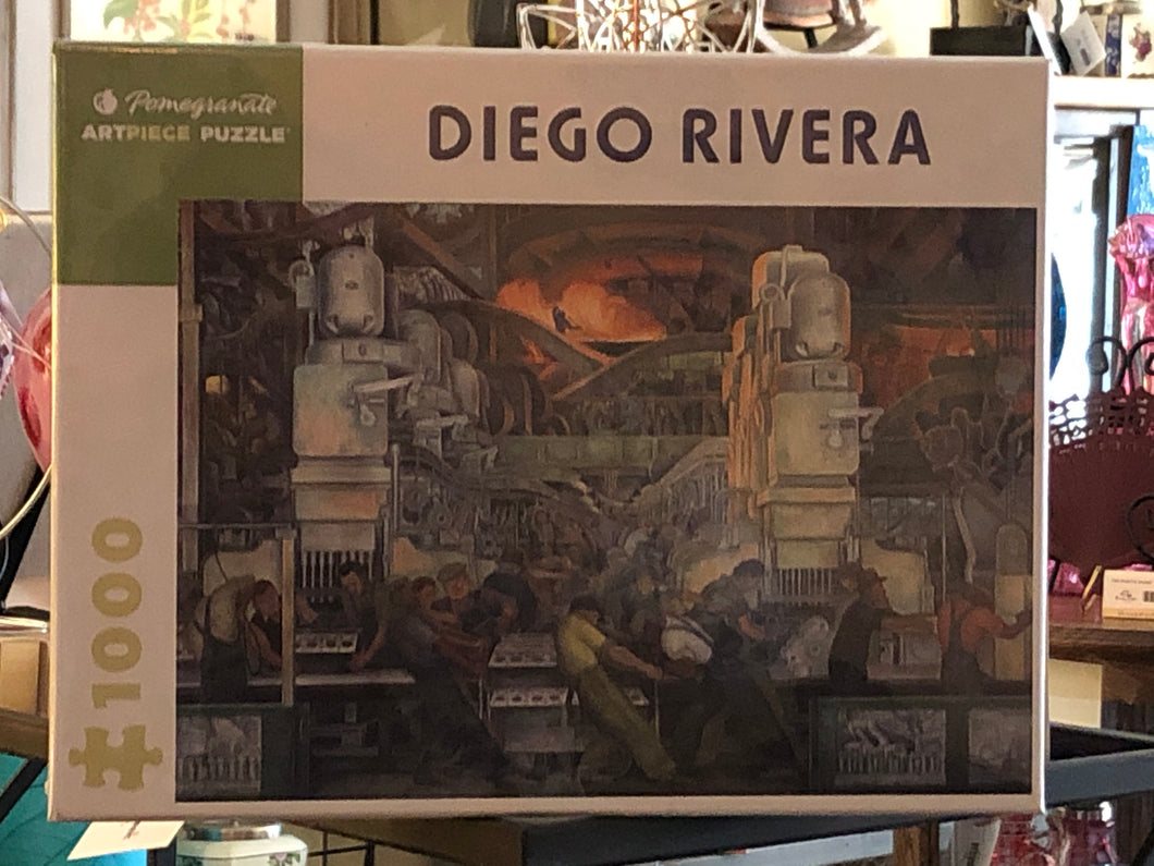 Detroit by Diego Rivera Puzzle