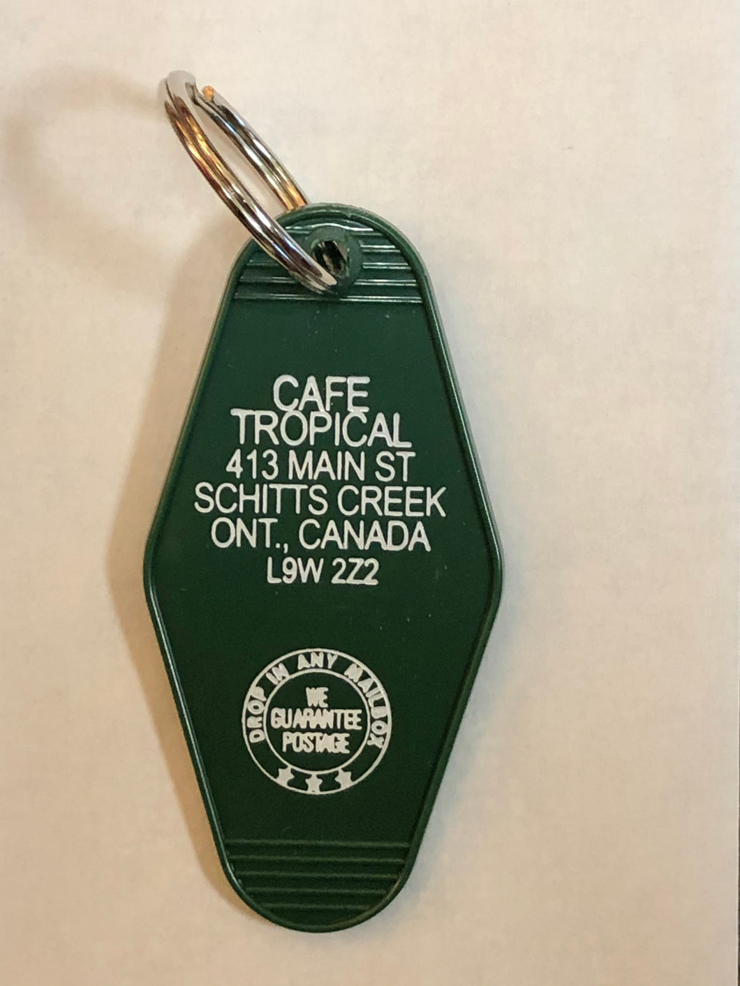 Cafe Tropical Keychain - Schitt's Creek