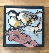 MT Spring Chickadees Tile