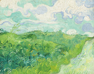 Vincent van Gogh - Green Wheat Fields, Auvers