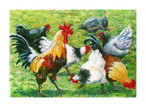 Busy fowls