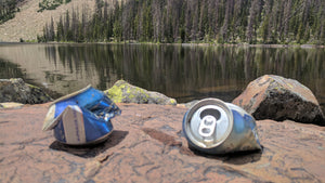 litter in the backcountry