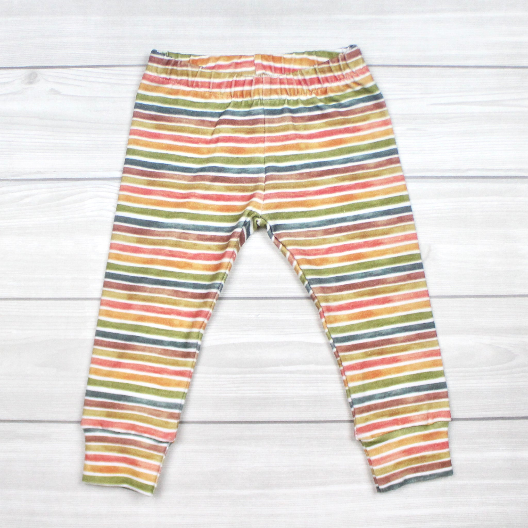Fall Stripes Leggings