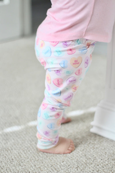 Candy Hearts Leggings