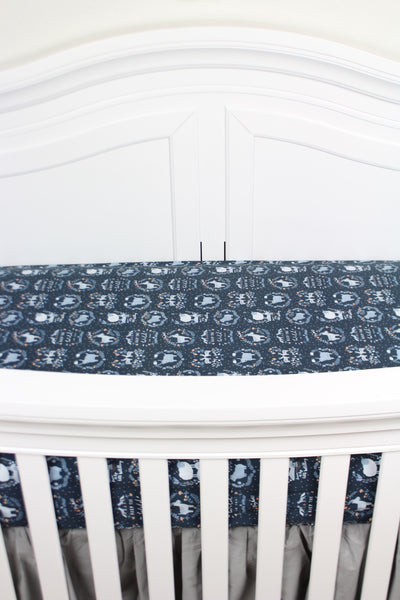 Stay Wild Crib Sheet or Changing Pad Cover