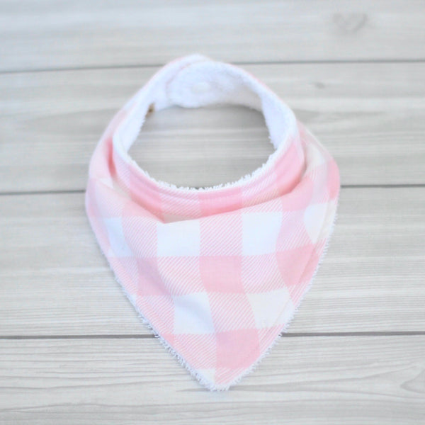 Pink Buffalo Plaid Bibdana