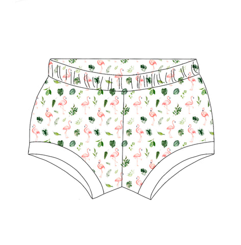 Flamingo Shorties