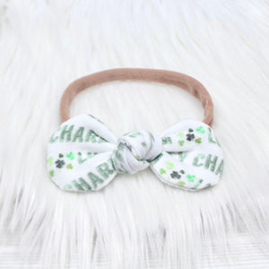 Lucky Charm Mini Knot Headband
