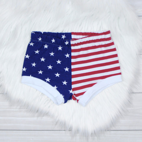 Stars and Stripes Shorties