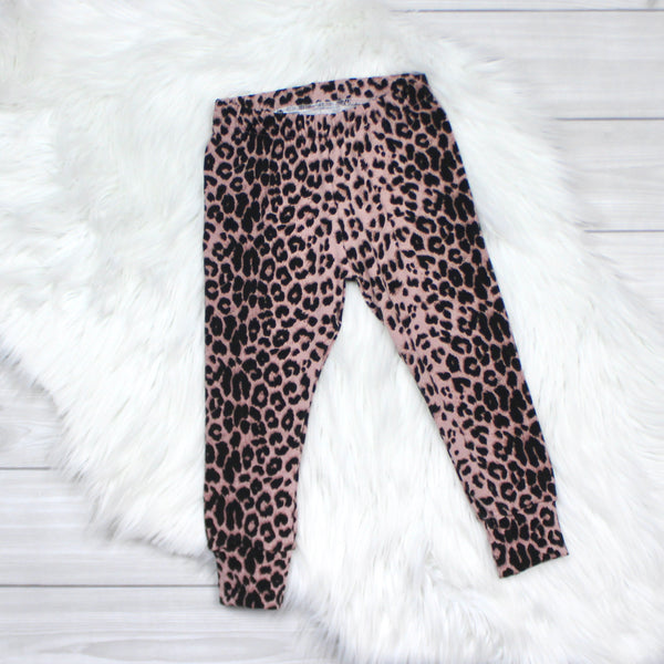 Blush Leopard Leggings