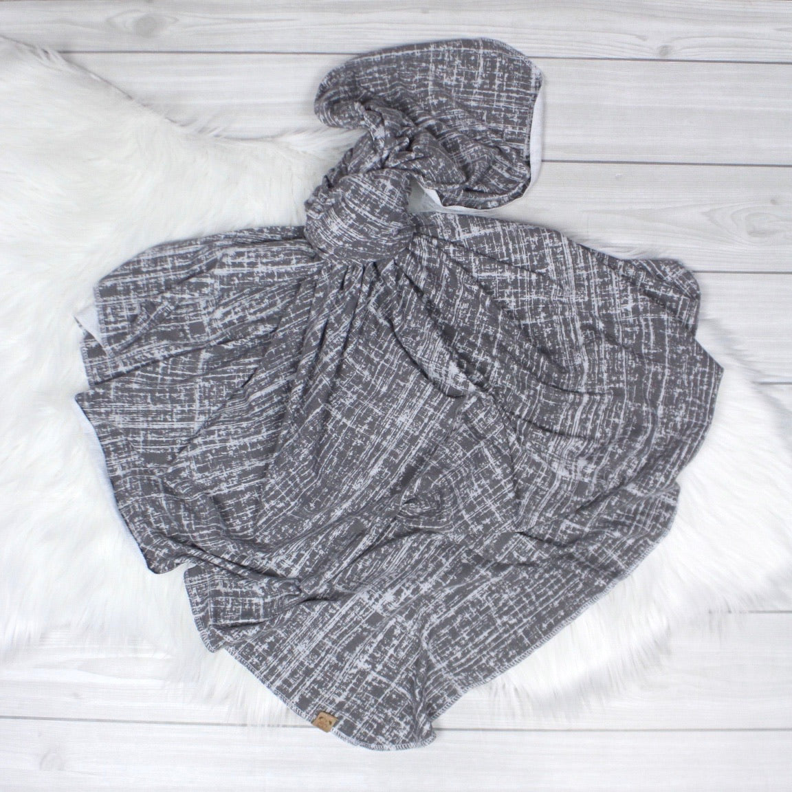 Gray Swaddle Set