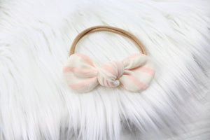 Blush Stripe Headband