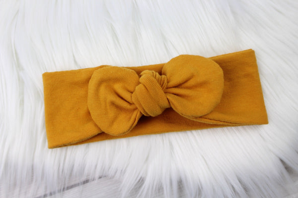 Mustard Yellow Headband