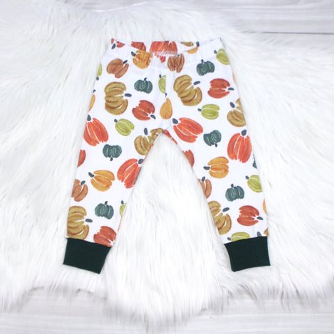 Fall Pumpkin Leggings