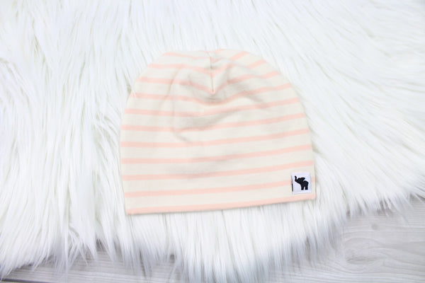 Blush Stripe Swaddle Set