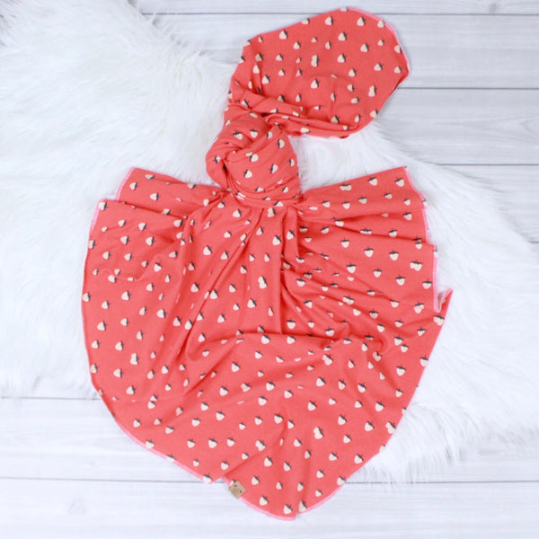 Strawberry Swaddle Set
