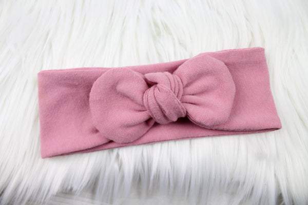 Dusty Rose Pink Headband