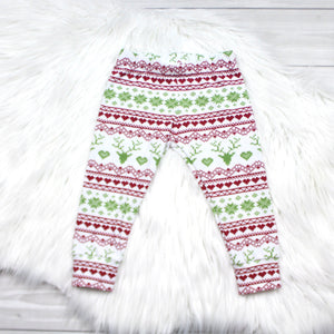 Winter Reindeer Leggings