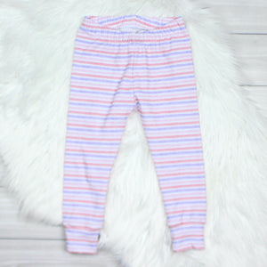 Watercolor Stripes Leggings