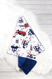 Emergency Vehicles/Royal Blue Lovey
