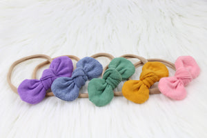 Soft Rainbow Mini Knot Collection