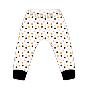 Halloween Polka Dot Leggings