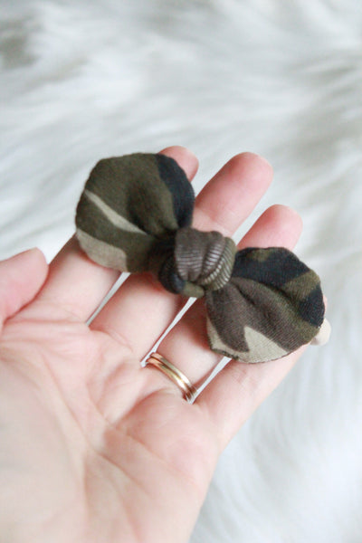 Camo Mini Knot Headband